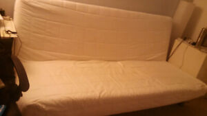 GOING CHEAP- IKEA Beddinge Sofa Bed/Futon-Frame, mattress, cover