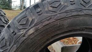 285 70 R17 (33 in) Mud Tires Prince George British Columbia image 3
