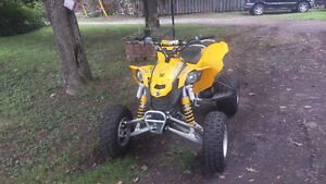 2008 Can am DS 450 EFI trade for duel sport