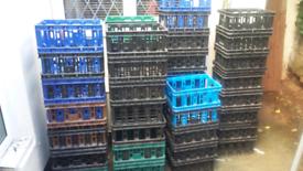 Milk storage crates