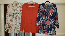 Ladies designer blouse selection size 30-32