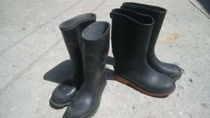 Kids Rubber Boots sizes 4 & 1 - $5 each