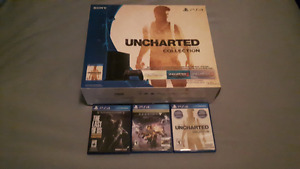Mint PS4 with games, stand and 1 controller