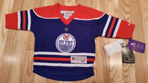 Infant (12-24 month)Edmonton Oilers Connor McDavid  Player Jers