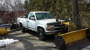 1995 Chevrolet C/K Pickup 2500 with plow