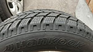HANKOOK Winter Tires 175/65R14 x 4 for sale - no rims