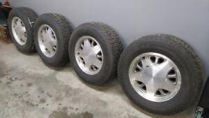 Winter Tires & Wheels Chev/GMC Astro/Safari