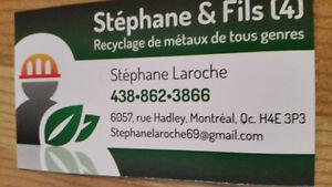 Service de ramassage de recyclage