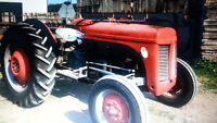 LOOKING for a FERGUSON TE-20 Tractor ( PARTS or BODY )