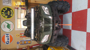 2015 Arctic Cat 400 4x4. Like new only 577kms