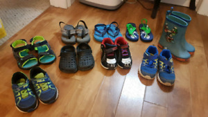 Toddler boys size 9 shoe lot