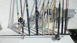 Fishing Rods and Reels $40 to $100