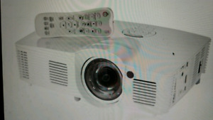 Optoma gt1080 darbee short throw gaming projector