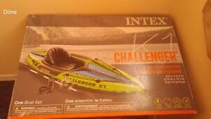 Intex challenger kayak