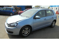 Volkswagen Golf 1.6TDI ( 105ps ) SE DAMAGED REPAIRABLE SALVAGE