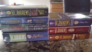 Lot of 7 VC Andrews books