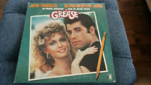 GREASE VINYL RECORD double  LP