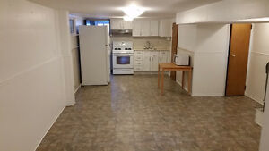 Nice and clean bachelor basement apartment in quiet neighborhood