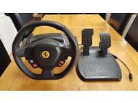 Xbox Ferrari steering wheel