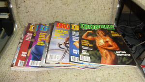 IRONMAN Bodybuilding Muscle Magazines 1987 ,88, 89  Lot of 28
