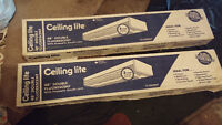 """TWO BRAND NEW 48"""" FLUORESCENT LIGHT FIXTURES IN BOX, BATH SINKS"""