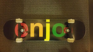 BRAND NEW ENJOY SKATEBOARD FULL SET UP
