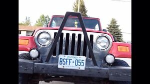 Jeep TJ heavy duty bumper