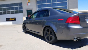 Acura TL 6 speed manual