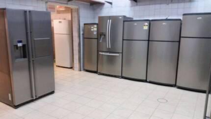 Refurbished with warranty fridges&washers