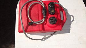 réservoir à essence pour chaloupe ou bateau