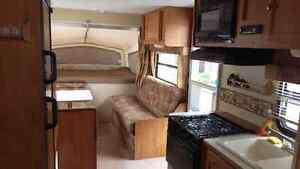 Hybrid Travel Trailer Rental Rent Sleeps 8-10 only 3350lbs Dry