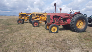 4 Antique Tractors for sale