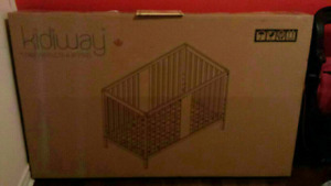 4in1 convertible brand new crib first come first serve