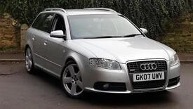 Audi A4 Avant 3.0TDI ( 233PS ) 2007MY quattro S Line + NAV + FULL 2 TONE LEATHER