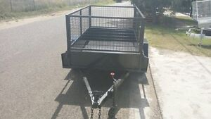 TRAILER FOR RENT 8x5 or 9x5 box TRAILER WITH CAGE Rocklea Brisbane South West Preview