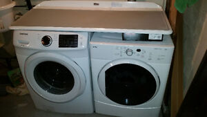 samsung front load washer only a couple months old. kenmore drye