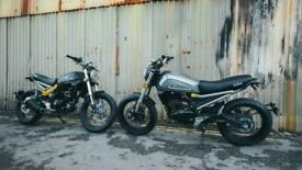 AJS Isaba 125cc Commuter with Scrambler Style and attitude -Only £49 OTR Charges