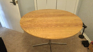 Retro folding table and four chairs Peterborough Peterborough Area image 3