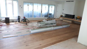 Get your beautiful new floor professionally installed !