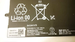 Battery for Sony Xperia Tablet Z Wi-Fi, SGP311, SGP312, Tablet Z