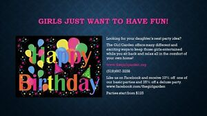 Girls Just Want to Have Fun! Birthday Party London Ontario image 1