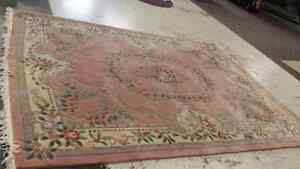 12x9 pure wool area rug professionally cleaned. Peterborough Peterborough Area image 1