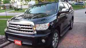 2008 Toyota Sequoia 4x4 Loaded Limited Sport Edition
