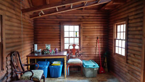 Charming Off Grid Log Cabin Sarnia Sarnia Area image 3