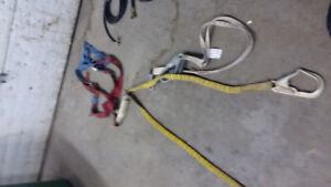 Harness and lanyards