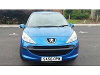 Peugeot 207 1.4, Blue, 3dr