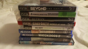 Used PS3 and PS4 Games for Sale