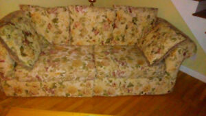 Couch and non matching chair