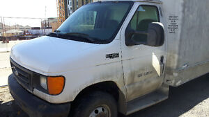 2004 Ford E-Series Van White Other