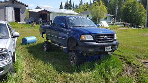 1997 ford lifted truck project